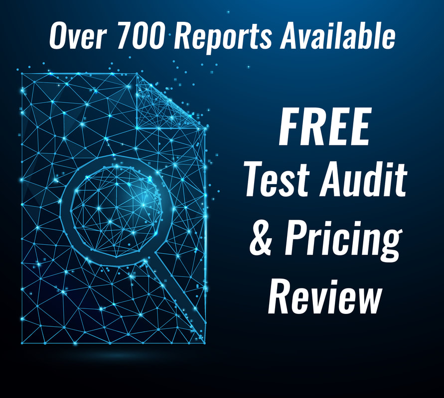 PictureOver 700 Reports Available, FREE Test Audit and Pricing Review